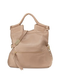 Foley Corinna Mid City Zip Tote Bag Putty