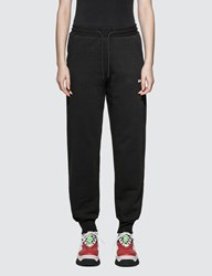 Msgm Small Logo Sweatpants Black