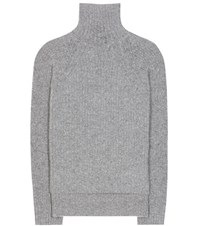 Haider Ackermann Mohair And Wool Blend Turtleneck Sweater Grey