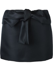 N 21 N.21 Bow Detail Mini Skirt Black