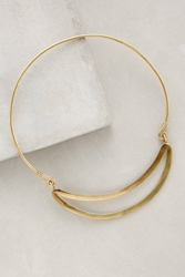 Made Gliding Collar Necklace Gold