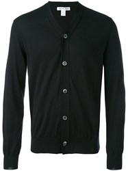 Comme Des Garcons Shirt V Neck Cardigan Men Cotton S Black