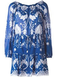 Alice Mccall Floral Print Dress Blue