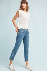 Anthropologie Pilcro Hyphen Mid Rise Relaxed Boyfriend Jeans Denim Light
