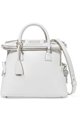 Maison Martin Margiela 5Ac Baby Leather Tote White