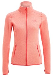 The North Face Glacier Fleece Cayenne Red Apricot