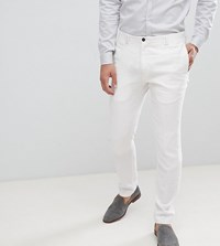 Noak Skinny Wedding Suit Trousers White