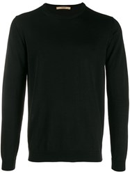 Nuur Slim Jumper Black