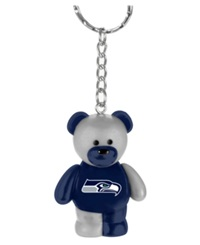 Forever Collectibles Seattle Seahawks Bear Keychain Team Color