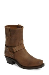 Frye Women's Harness Square Toe Engineer Boot