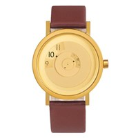 Projects Watches Reveal Watch Brass Brown