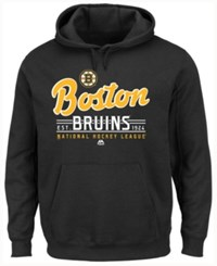 Majestic Men's Boston Bruins Intense Defense Hoodie Black