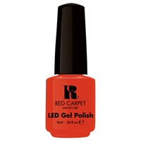 Red Carpet Manicure Led Gel Nail Polish Oranges And Browns Collection 9Ml Tangerine On The Rocks