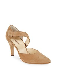 Paul Green D Orsay Pointed Toe High Heels Tan