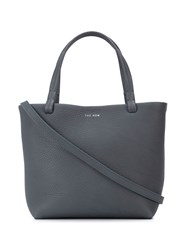 The Row Small Park Tote Bag Blue