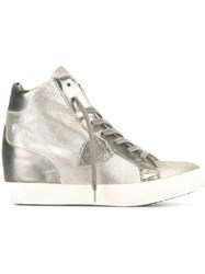 Philippe Model Hidden Wedge Sneakers Metallic