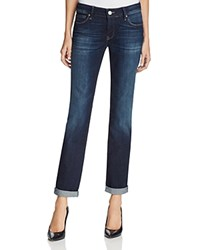Mavi Jeans Emma Slim Boyfriend In Deep Brushed Vintage