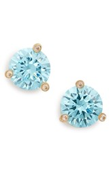 Women's Kate Spade New York 'Rise And Shine' Stud Earrings Aquamarine