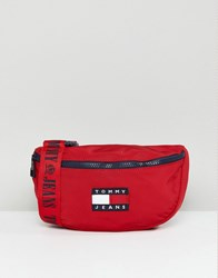Tommy Jeans Jean 90S Capsule Fanny Pack Red