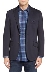 Bugatchi Men's Two Button Blazer