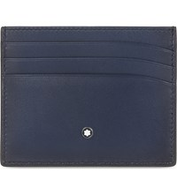 Montblanc Meisterstuck Sfumato Leather Card Holder Navy