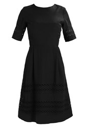 Selected Femme Sfcharline Summer Dress Black