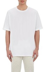 Helmut Lang Men's Jersey Oversized T Shirt White