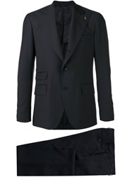 Gabriele Pasini Slim Fit Suit Blue