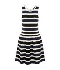Juicy Couture Striped Dress Multi