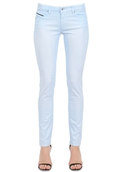 Diesel Black Gold Stretch Cotton Denim Jeans Light Blue