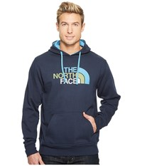 The North Face Half Dome Hoodie Urban Navy Cendre Blue Multi Men's Long Sleeve Pullover
