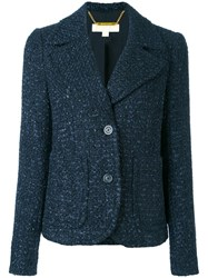 Michael Michael Kors Tweed Jacket Blue