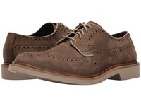 Cole Haan Briscoe Wing Oxford Sapor Nubuck Men's Lace Up Casual Shoes Brown