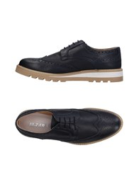 At.P. Co At.P.Co Lace Up Shoes Dark Blue