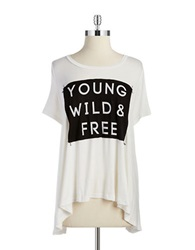 Vintage Havana Graphic Tee White Black