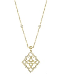 Penny Preville Diamond Lace Pendant Necklace