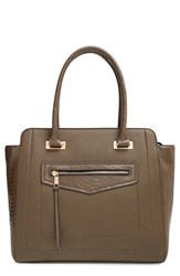Sole Society Structured Faux Leather Tote