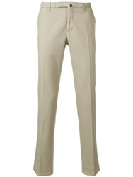 Incotex Classic Tailored Trousers Neutrals