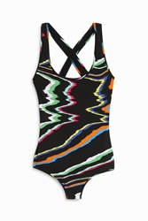Missoni Printed One Piece Multi