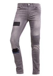 Religion Cure Slim Fit Jeans Washed Grey Grey Denim