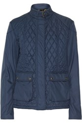 Belstaff Aynsley Quilted Shell Jacket Storm Blue