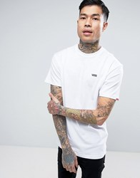 Vans T Shirt With Small Logo In White Va3czewht