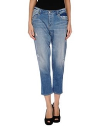 Marc By Marc Jacobs Denim Pants Blue