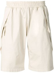 Low Brand Elasticated Cargo Shorts Neutrals