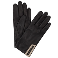 John Lewis Five Button Leather Gloves