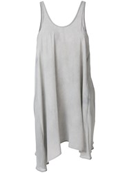 Lost And Found Ria Dunn Asymmetric Pleated Top Grey