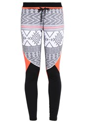 Roxy Keep It Warm Tights Windy Road Combo True Black