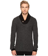 7 Diamonds Flinton Sweater Black Men's Sweater