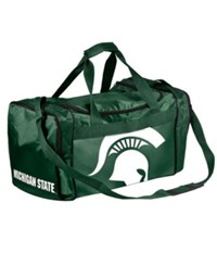 Forever Collectibles Michigan State Spartans Core Duffle Bag Green