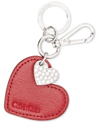 Calvin Klein Double Heart Key Chain Charm